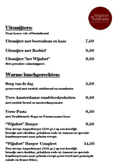 Lunchkaart Wijnfort Jutphaas 2018 2-3